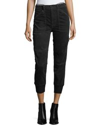 Vince - Slouchy Corduroy Military Pants - Lyst
