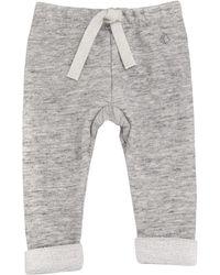 Petit Bateau Telel Cotton Sweatpants - Gray