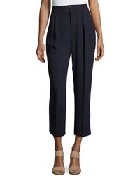 See By Chloé - Tailored Straight-leg Trousers - Lyst