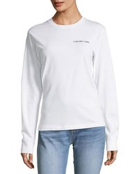 Helmut Lang - Taxi-graphic Long-sleeve Sweatshirt - Lyst