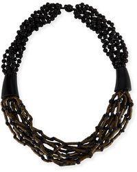 Eskandar - Multi-strand Beaded Acai Necklace - Lyst