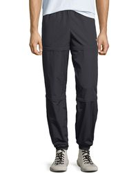 Balenciaga - Men's Zip-panel Convertible Track Pants - Lyst