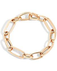 Pomellato - Iconica 18k Rose Gold Extra-slim Chain Bracelet - Lyst