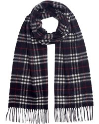 Burberry - Men's Vintage Check Cashmere Scarf - Lyst