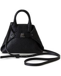Akris - Ai Micro Leather Crossbody Bag - Lyst