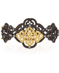 Armenta - Old World Scroll Bracelet With Diamonds - Lyst