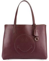 Anya Hindmarch - Ebury Shopper Smiley Tote Bag - Lyst