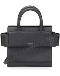 Givenchy - Horizon Nano Grained Leather Satchel Bag - Lyst