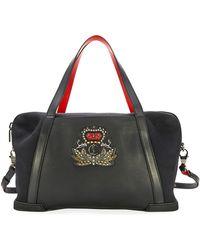 Christian Louboutin | Damon Men's Leather Duffel Bag | Lyst