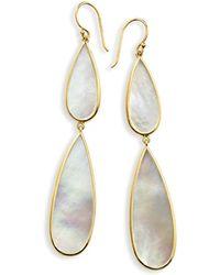 Ippolita | 18k Rock Candy Double-drop Mother-of-pearl Earrings | Lyst
