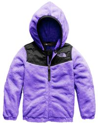 The North Face - Oso Fleece Hooded Jacket - Lyst
