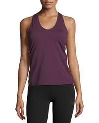 Monreal London - Essential V-neck Performance Tank - Lyst
