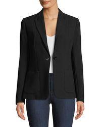 Elie Tahari - Wendy One-button Blazer Jacket - Lyst