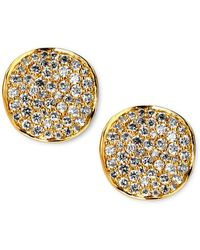 Ippolita Stardust Diamond Stud Earrings - Metallic