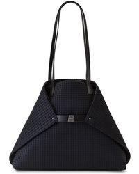 Akris - Ai Medium Techno Fabric Shoulder Bag - Lyst