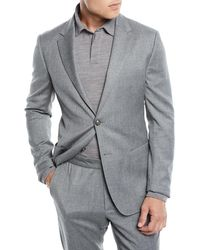 Z Zegna - Men's Wash-and-go Flannel Two-piece Suit - Lyst