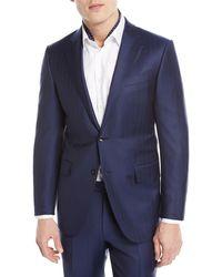 Ermenegildo Zegna - Twin Striped Trofeo® Wool Two-piece Suit - Lyst