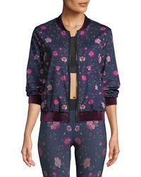 Ultracor - Stealth Botanica Floral-print Bomber Jacket - Lyst
