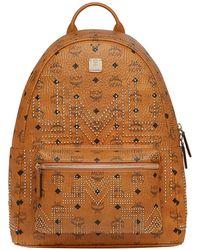 MCM - Men's Stark Gunta Medium Studded Backpack - Lyst