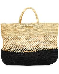 ViX - Ibiza Straw Beach Bag - Lyst