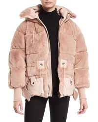 Tom Ford - Oversized Faux-fur Puffer Coat - Lyst