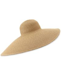 Eric Javits Giant Floppy Sun Hat - Natural
