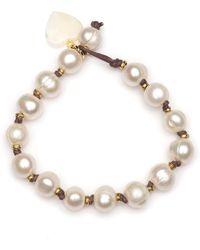 DANNIJO Tova Pearl Bracelet - Metallic