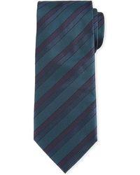 Brioni - Silk Tonal-stripe Tie - Lyst