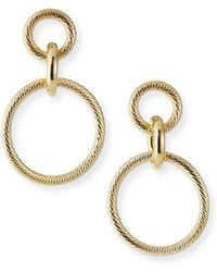 Jennifer Zeuner Wes Hoop-drop Earrings