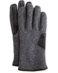 UGG - Men's Fuzzy Knit Smart Gloves - Lyst