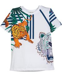 KENZO - Multi-icon Graphic T-shirt - Lyst
