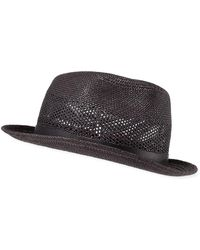 db17f10b9a7 Paul Smith Mayfair Fedora Hat in Black for Men - Lyst