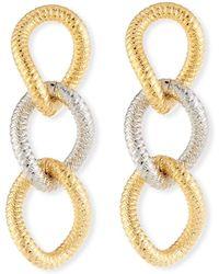 Vita Fede - Raffina Link Drop Earrings - Lyst