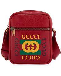 96e5f4c697fd Lyst - Fendi Retro Fila Font Logo Belt Bag By in Black for Men