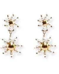 Rosantica - Daisy Double-drop Earrings - Lyst