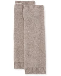 Sofia Cashmere - Sequin Fingerless Gloves - Lyst