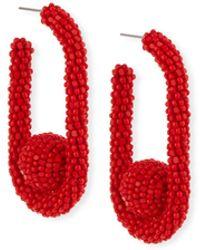 Sachin & Babi - Seed Bead Mini Pinball Earrings - Lyst
