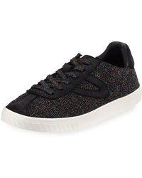 Tretorn - Glittered Knit Platform Sneakers - Lyst