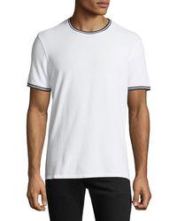 ATM - Tipped Short-sleeve Jersey T-shirt - Lyst