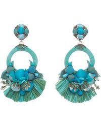 Ranjana Khan - Petal Clip-on Drop Earrings - Lyst
