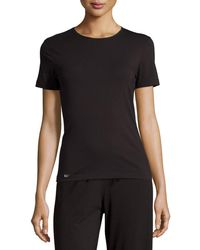 La Perla - New Project Crewneck Lounge Tee - Lyst