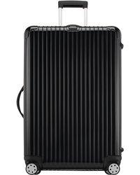 "Rimowa Salsa Deluxe Black 32"" Multiwheel Luggage"