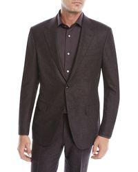 Ermenegildo Zegna - Men's Heathered Wool Two-piece Suit - Lyst