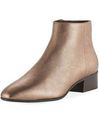 Aquatalia - Fuoco Weatherproof Leather Ankle Boots - Lyst