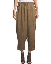 Urban Zen - Silky Parachute Scarf-front Pants - Lyst