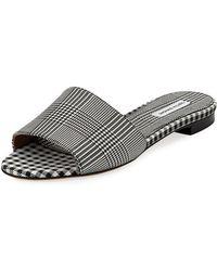 Tabitha Simmons - Sprinkles Frayed Slide Sandals - Lyst