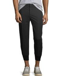 Neil Barrett - Cropped Trouser Jogger Pants - Lyst