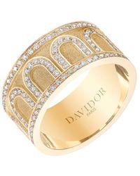 Davidor L'arc De 18k Gold Diamond Ring - Grand Model - Metallic
