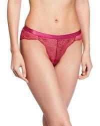 Cosabella - Sugar Geometric-lace Hotpant Briefs - Lyst