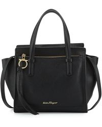 Ferragamo Small Leather Tote Bag